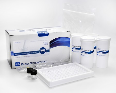 Kit rapido inibenti nel latte - AuroFlow BT Combo Strip Test